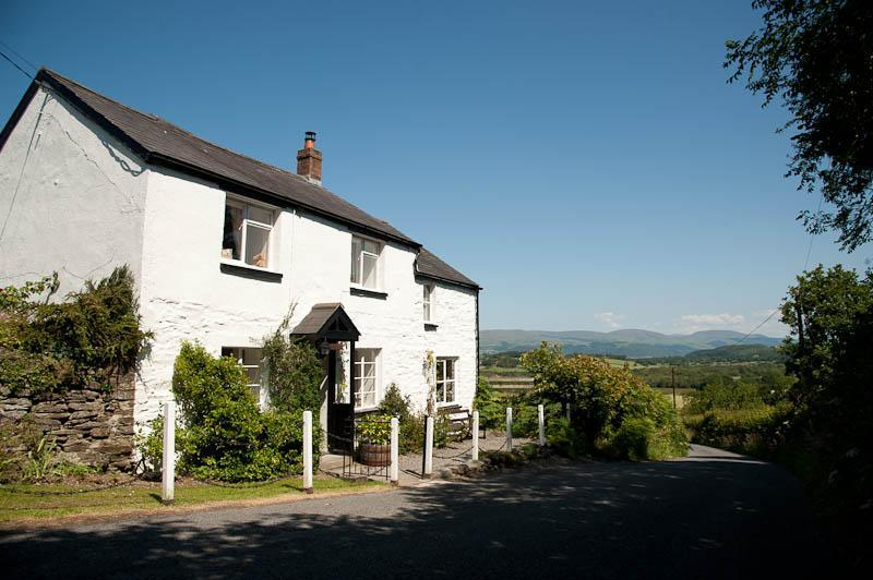 Front of property - Primrose Cottage - Aberystwyth - rentals