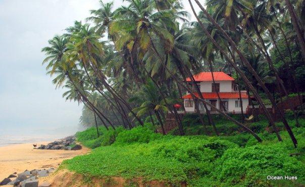 A Picturesque View of Ocean Hues Beach House & its surroundings - Kerala Seaside Getaway - Ocean Hues Beach House - Kannur - rentals