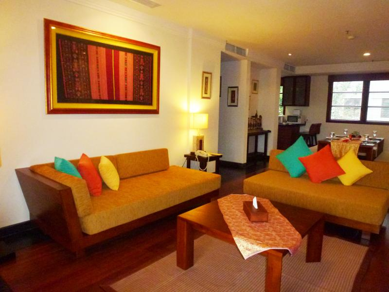 Living Room - NUSA DUA LUXURY 2 BEDROOM APARTMENT - Nusa Dua - rentals