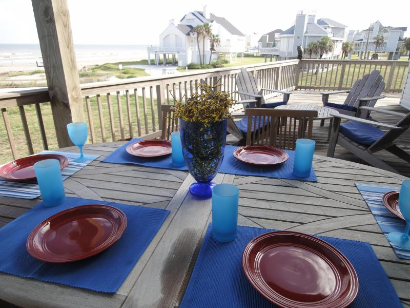 Amazing Views from Decks! - 30 Steps to Beach, Sleep 15, 8 Rooms w Beach Views - Galveston - rentals