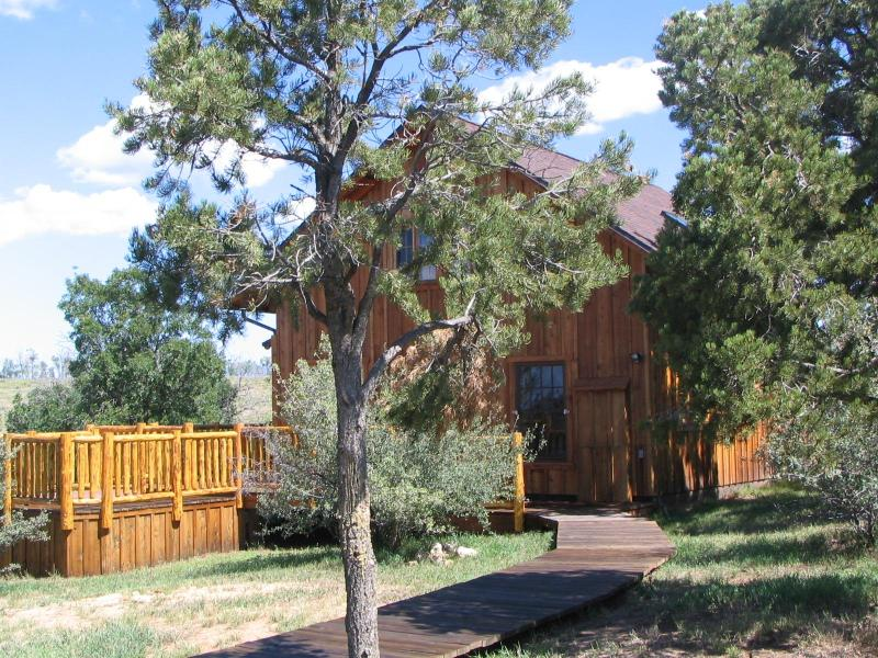 Guest House side view - Quiet Seclusion at a Working Horse Ranch! - Durango - rentals