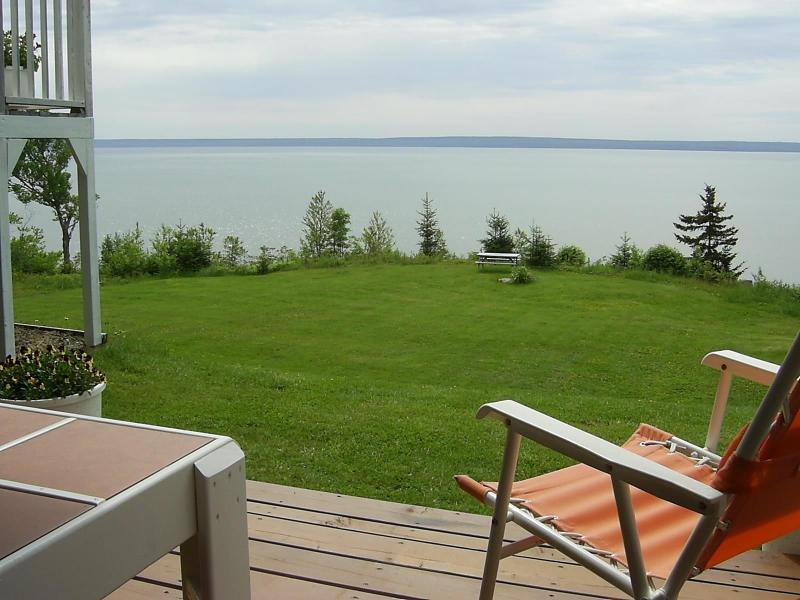 View of Bay and Nova Scotia coastline - A Suite on the Bay - Alma - rentals