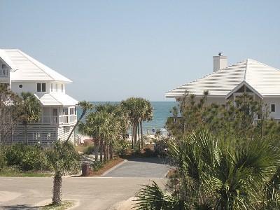 View From East Deck - Last August Week: 22-29-$1190! Booking September! - Saint George Island - rentals