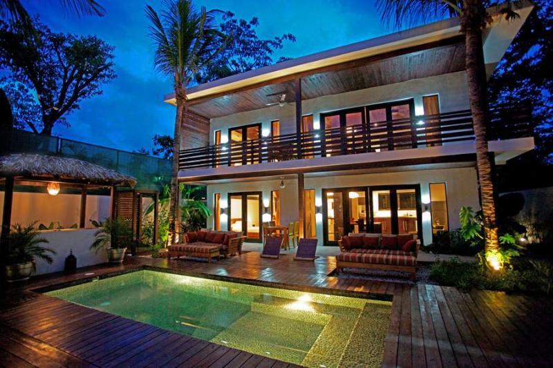 The Logan , Tiki BarBQ , and Pool - The Logan - Full Eco Luxury right in Samara Centro - Playa Samara - rentals