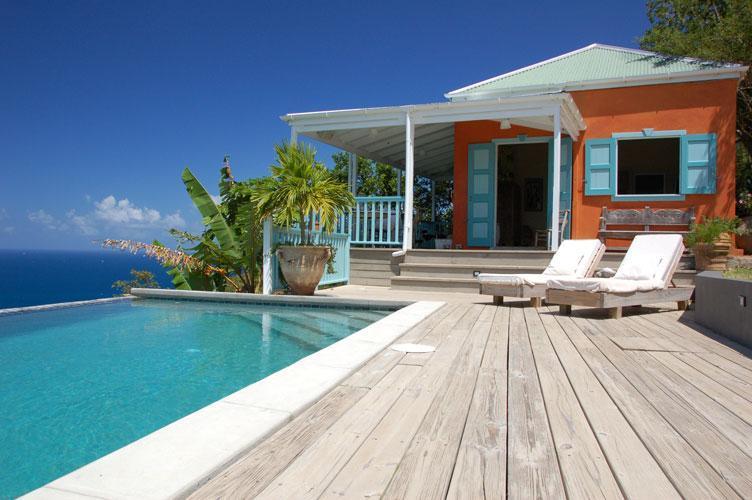 pool and deck - Kerensa Villa - Tortola - rentals