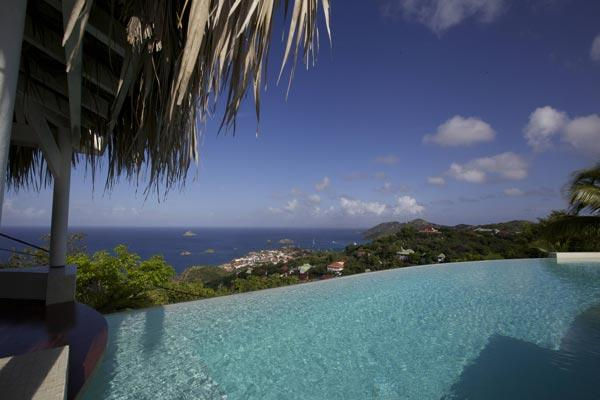 Spacious villa overlooking Gustavia with quick access to the beach WV BSN - Image 1 - Lurin - rentals