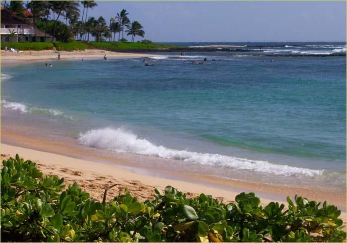Nearby Poipu Beach...a 10 minute walk - Beautiful Ocean Close Remodeled Townhouse in the H - Poipu - rentals
