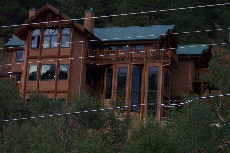 Ranch House from Valley - Trout Creek Ranch - Woodland Park - rentals