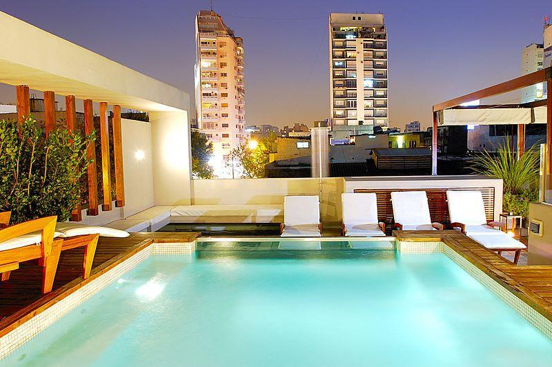 Rooftop patio with plunge pool - BA's Most Luxurious House - 5000sq ft / 465m- 3 Bedrooms - Buenos Aires - rentals