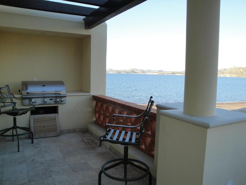 Outdoor veranda view - Beach front Penthouse, La Paz - La Paz - rentals
