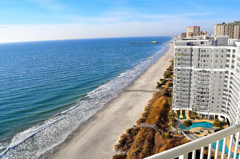 Breathtaking Views From One Of Our Balconies - Spectacular Oceanfront 3 Bedroom Penthouse at Seawatch Resort - Myrtle Beach - rentals