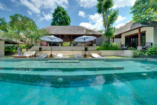 Villa Bunga Pangi from the Pool - Bali Canggu Villa Bunga Pangi mod lux 4bdrm Rivers - Canggu - rentals