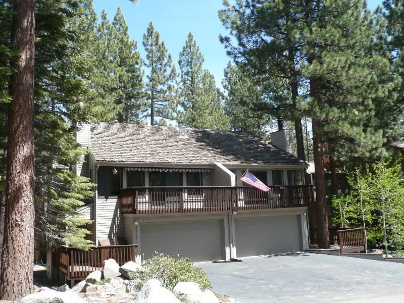Exterior, Unit on Left - Lake Tahoe Resort Community Townhouse - Stateline - rentals