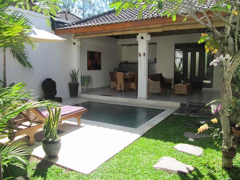View from Door - Villa Kembali - Private one bedroom boutique villa - Ubud - rentals