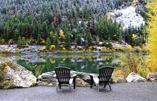 Budges' Slide Lake Cabins near Grand Teton National Park - Budge's Slide Lake Cabins-Cabin #2 - Kelly - rentals