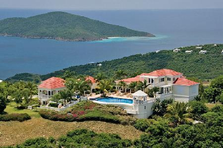 Infinity - Gated Hilltop Estate - Infinity Pool, Romantic Gazebo - Image 1 - Saint Thomas - rentals