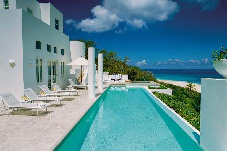 Sea Villa - Beachfront, 4 Master Suites each with Terrace, Daily Breakfast - Image 1 - Long Bay Village - rentals