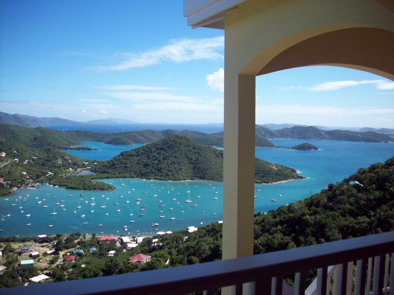 View from the spacious veranda - Island Horizons - Coral Bay - rentals