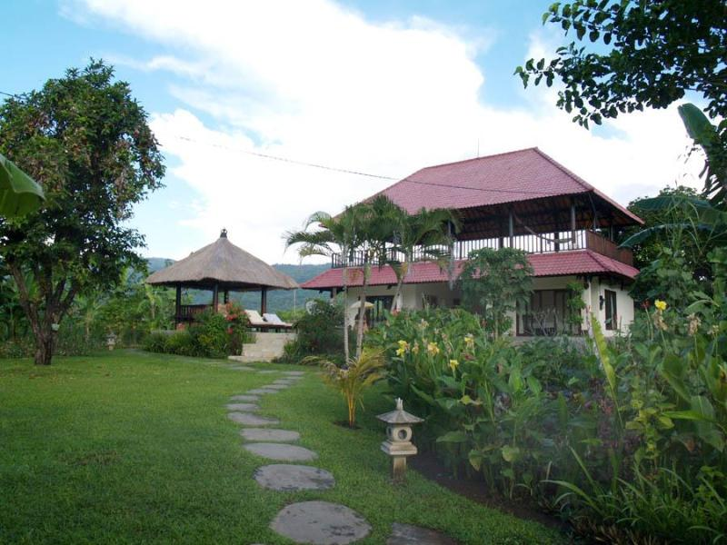 view from the entrance - Open stylish villa by the beach in Lovina, Bali - Lovina - rentals