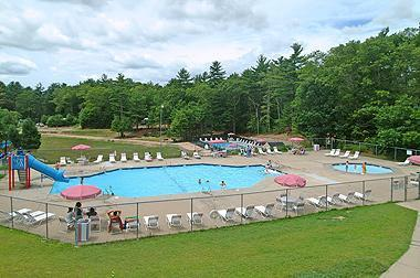 Overview Recreation area - Cape Cod Campresort & Cabins - Falmouth - rentals