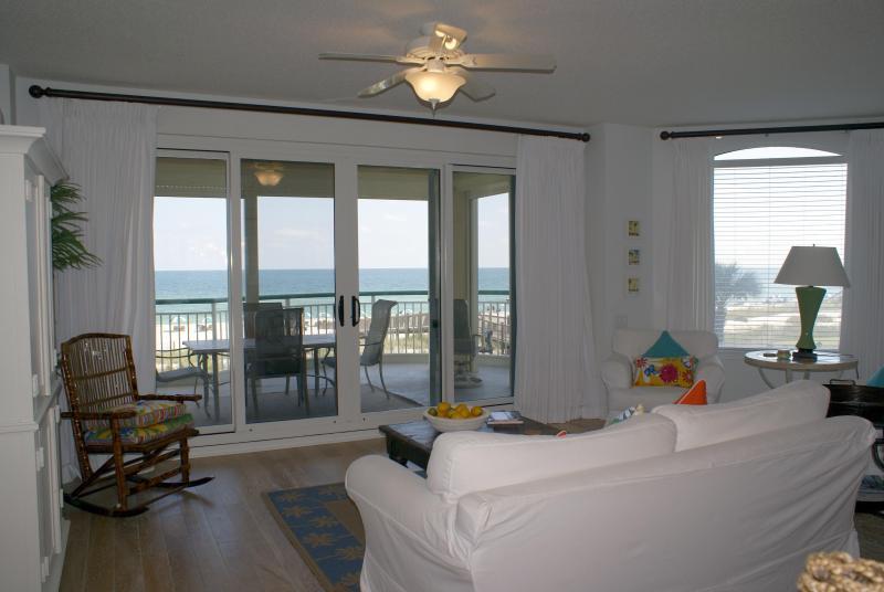 Fabulous views from the den/dining area - Beach Colony T-2C Luxury 2nd Flr Condo Perdido Key - Perdido Key - rentals
