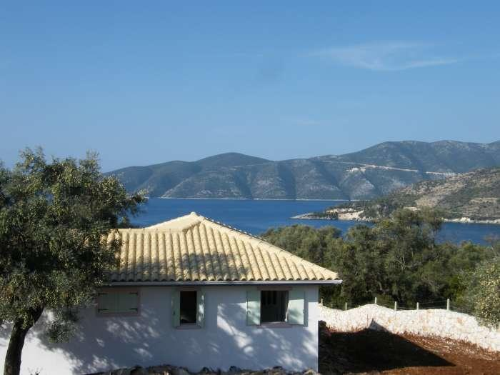 The villa is in a spectacular location - Blissful Secluded Villa With Panoramic Sea Views - Vasiliki - rentals