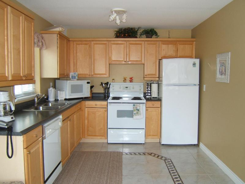 Well  equipped kitchen - 2bedroom 2 bathroom oceanviewfully equipped suite - White Rock - rentals