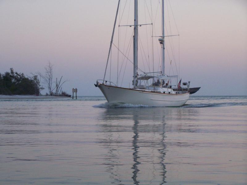 Dream Lover returning from a cruise - Dream Lover Boat & Breakfast on Anna Maria Island - Bradenton Beach - rentals