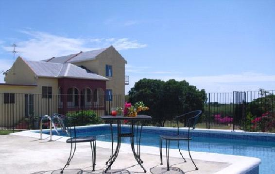 Pool at Two Seasons Guest House - Two Seasons Guest House, Treasure Beach, Jamaica - Treasure Beach - rentals
