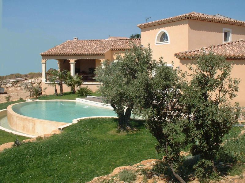 house - beautiful house for rent with fantastic view - Rochefort du Gard - rentals
