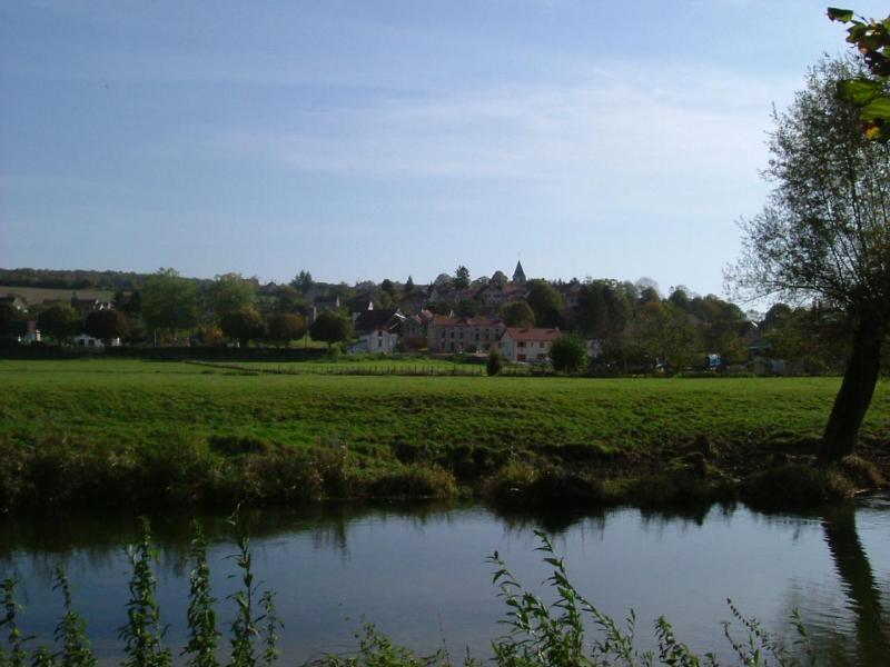 A view across the river Seine to our Village - Gite de Nod - Chatillon-sur-Seine - rentals