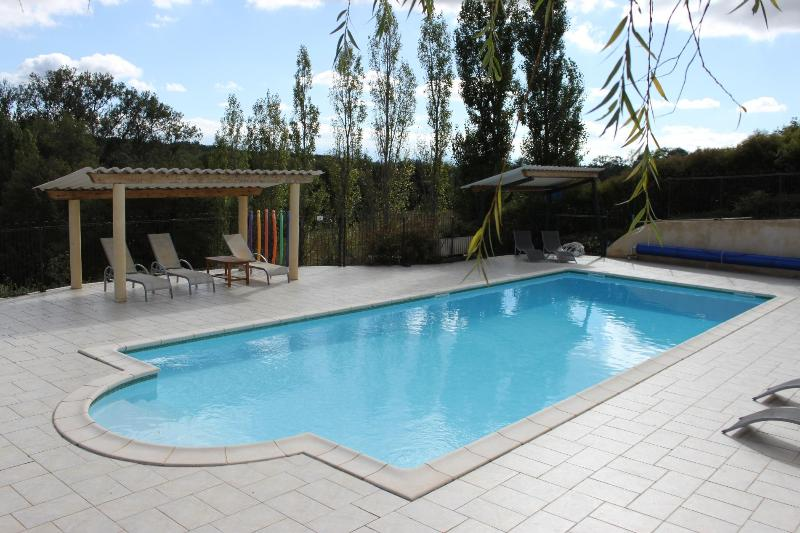Heated swimming pool - LoustalNeuf - Stone house in stunning location - Aude - rentals