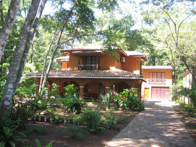 Casa de La Vida Grande view from front gate - Casa de La Vida Grande: A Tropical Paradise - Playa Grande - rentals