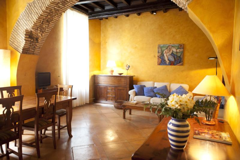 the living - Charming apartment near Navona place - Rome - rentals