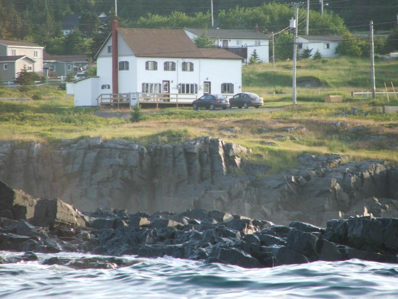 View of Bird Island Inn BB from the ocean - Bird Island Inn B&B - Elliston - rentals