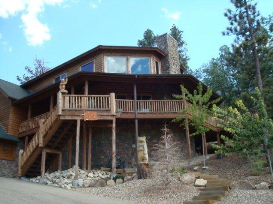 Front View - Golden Oak Lodge - Big Bear Lake - rentals