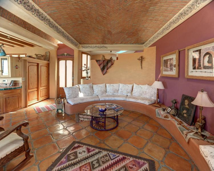 Eagles Nest living area - Casa Caracol - San Miguel de Allende - rentals