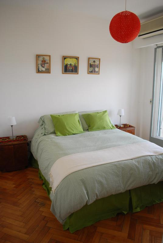 Bedroom - Sunny apartment, excellent location. Palermo Soho - Buenos Aires - rentals