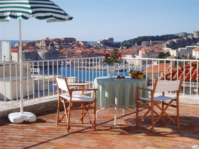 View of the Old Town from your private terrace - Apartment Jinx&Jinxy (stunning terrace & position) - Dubrovnik - rentals