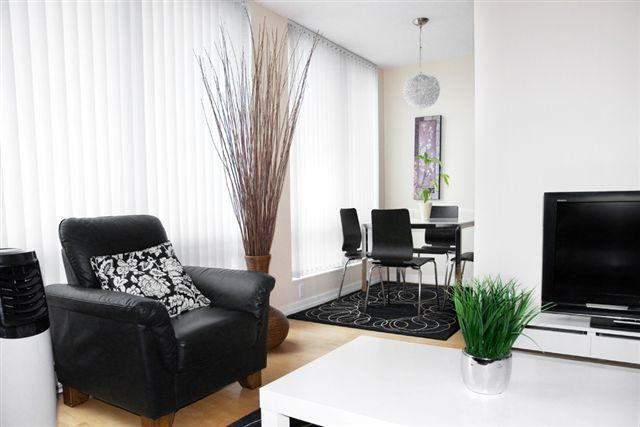 Living Room and Dining Room - Vancouver Extended Stay - Vancouver - rentals