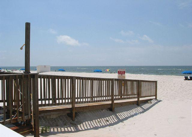 Walkway to Beach - Ocean House 2605 ~ Serene Beachfront Condo - Gulf Shores - rentals