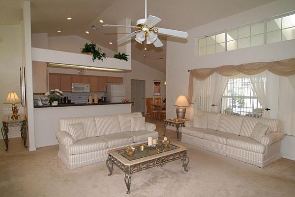 Welcome to our luxury lounge in Loma Vista - Luxury Florida Villa in Davenport close to Disney - Davenport - rentals