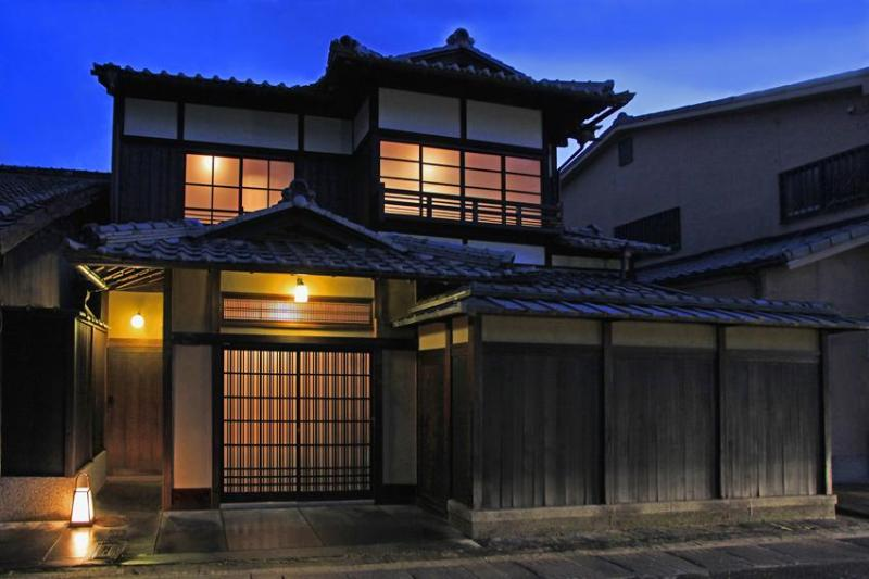 One kind of Machiya luxury facade High Wall Style ''TAKABEI TSUKURI'' - Stay Important Cultural Propertie ArashiyamaHanare - Kyoto - rentals