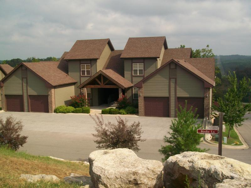 Front View - Birdie Bungalow at Stonebridge Resort Sleeps 2-6 - Branson West - rentals