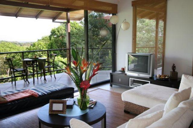 Living area - Casa Vista Reyes - Pool - Mountain view -sleeps 6 - Manuel Antonio National Park - rentals