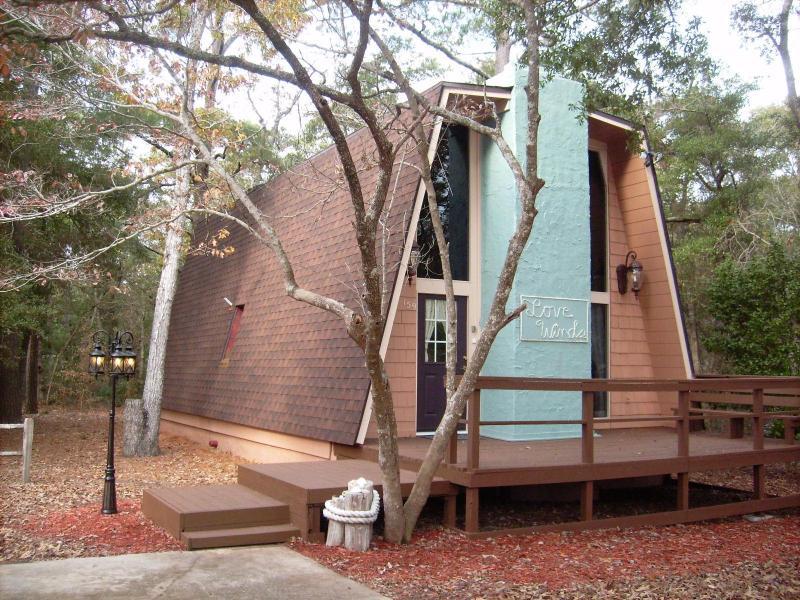 Front of house - Love Winds Beach House - Oak Island - rentals
