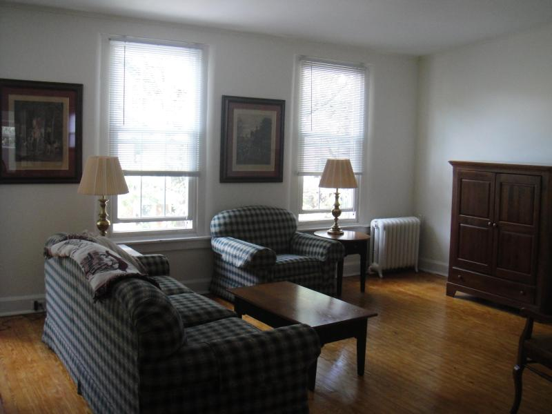 Living room area - 2 BR Apt. in the heart of the Brandywine Valley - Kennett Square - rentals