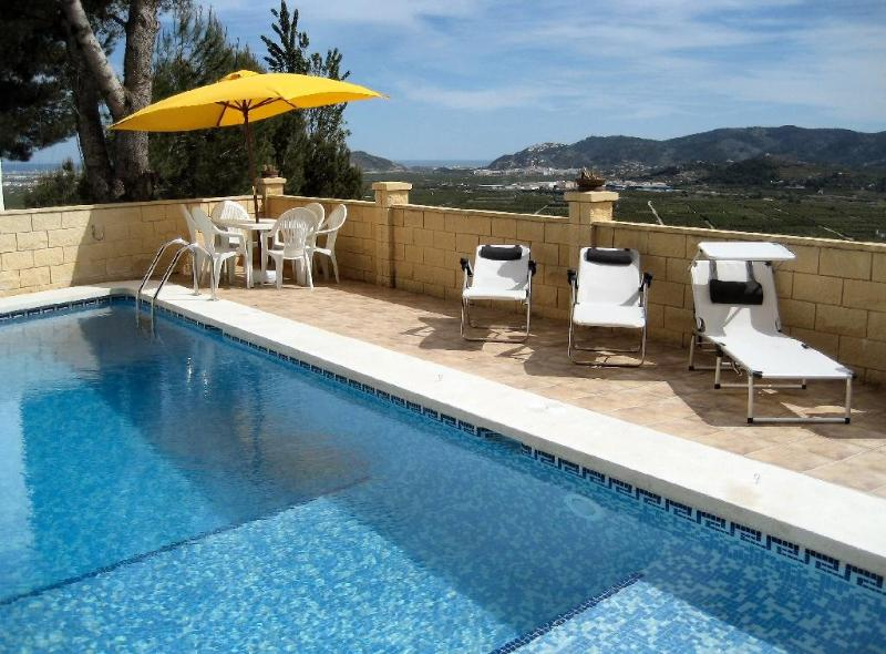 Pool in daytime - Villa with panoramic views and private pool - Valencia - rentals