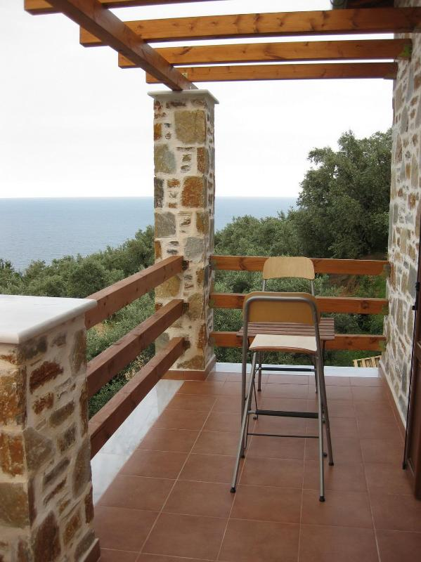 BALCONY - HOUSE FOR RENT / STUDIO -APARTMENT FOR VACATION - Thessaly - rentals