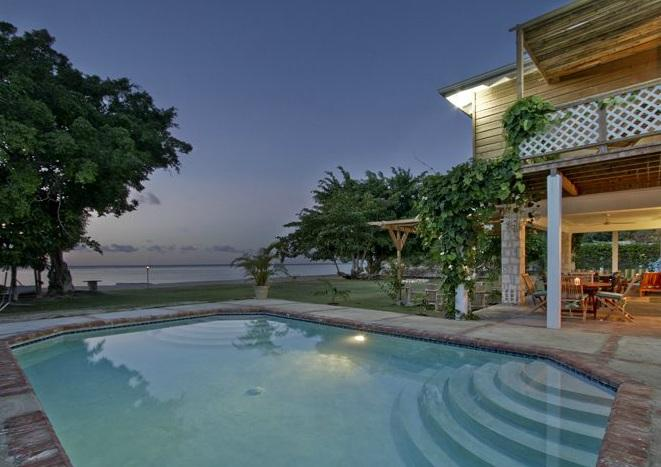 PARADISE PSSH -  268974 - FANTASTIC 4 BED FAMILY BEACHFRONT VILLA - DISCOVERY BAY - Image 1 - Jamaica - rentals